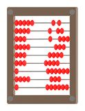 3d abacus. In white isolated background - 3d rendering Vector Illustration