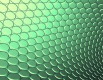 3d abstract backdrop in green. Yellow Royalty Free Stock Photos