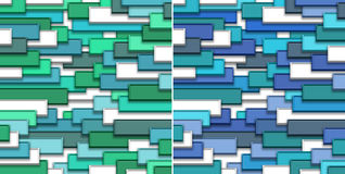 3d abstract background. Colored tiles Royalty Free Stock Image