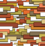 3d abstract background. Abstract colors tile background 3d Stock Photos