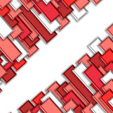 3d abstract background. Abstract colors tile background 3d Royalty Free Stock Photo