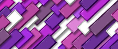 3d abstract background. Abstract colors tile background 3d Royalty Free Stock Images