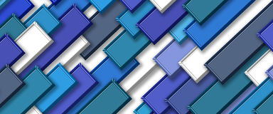 3d abstract background. Abstract colors tile background 3d Stock Photography