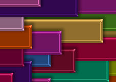 3d abstract background. Abstract colors tile background 3d Royalty Free Stock Image