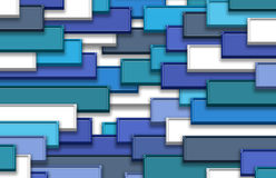 3d abstract background. Abstract colors tile background 3d blue Royalty Free Stock Photo