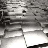 3d abstract background. With cubes Royalty Free Stock Image