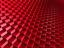 3d abstract background of cubes. Blocks structure construction Stock Image