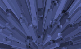 3d abstract background. Abstract background with 3d effect purple with different tones Royalty Free Stock Image
