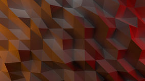 3D abstract background. 3D illustration of an abstract multicolored background Royalty Free Stock Photography
