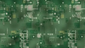 3D Abstract Background. Render. Abstract background electronics future concept. 3D render Stock Image