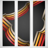 3d Abstract Background. Vector Illustration. Eps 10 Royalty Free Stock Photos