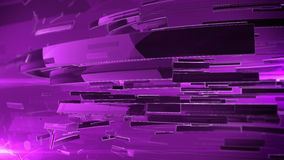 3d abstract business sphere. Purple color and DOF Royalty Free Stock Images