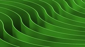 3d abstract color background. Wooden Waves and curves. 3d abstract color background Waves and curves composition Stock Photography