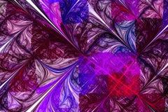 3d abstract computer geproduceerd fractal ontwerp stock illustratie