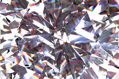 3d abstract crystal clear background texture royalty free illustration