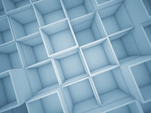 3d abstract cube background Royalty Free Stock Photo