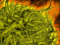 3d abstract fractal background Royalty Free Stock Photo