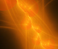 3d abstract fractal illustration background for Stock Image