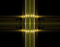 3d abstract fractal illustration background for Royalty Free Stock Photography