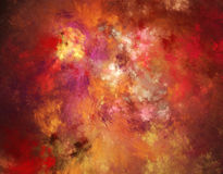 3d abstract fractal illustration background for Royalty Free Stock Image