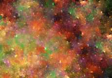 3d abstract fractal illustration background for Stock Photo