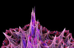3d abstract fractal illustration background for Stock Photos