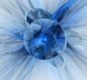 3d abstract fractal illustration background Royalty Free Stock Photos