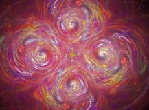 3d abstract fractal illustration background Stock Photography