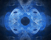 3d abstract fractal illustration for creative design Royalty Free Stock Images
