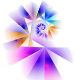 3d abstract fractal illustration for creative design Stock Images