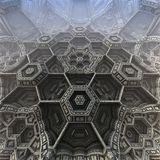 3D abstract fractal illustration. Illustration for graphic design Stock Photos