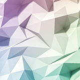 3d abstract geometrical background Royalty Free Stock Photos