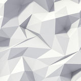 3d abstract geometrical background. 3d abstract softly colored geometrical background Stock Images