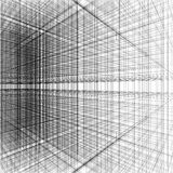 3d abstract of grid line. Architecture background Royalty Free Stock Photography