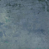 3d abstract grunge blue wall backdrop Royalty Free Stock Photo