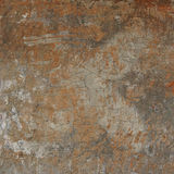 3d abstract grunge cracked wall with hidden cross Royalty Free Stock Images