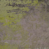 3d abstract grunge yellow green lavender wall Royalty Free Stock Photography