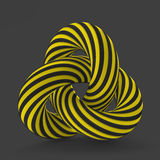 3D abstract illustration. Vector template Stock Images