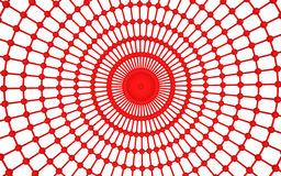 3d abstract red web structure. 3d render of abstract red web structure Royalty Free Stock Image