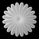 3d abstract shape. 3d abstract of white shapes Stock Photo