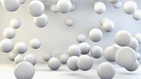 3d abstract spheres. 3d concept. 3d abstract spheres Stock Images