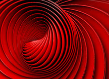 3d abstract swirl or twirl background Stock Photography