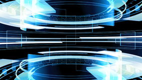 3D Abstract Technology Background 4K Looping Animation stock footage