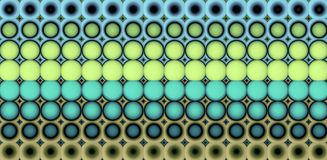 3d abstract tiled mosaic background in beige blue yellow Royalty Free Stock Photo