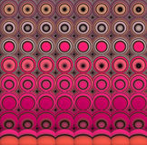 3d abstract tiled mosaic background in pink magenta orange Royalty Free Stock Image
