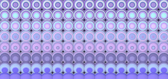 3d abstract tiled mosaic background in purple lavender Stock Photos