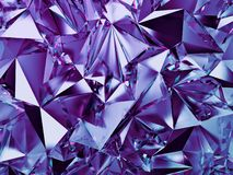 3d abstract violet crystal background, blue purple fashion wallpaper, faceted geometrical crystallized texture. 3d abstract violet crystal background, faceted vector illustration