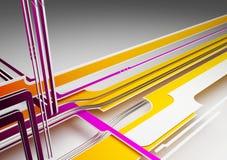 3D Abstracte Achtergrond Stock Foto
