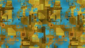 3d abstracte achtergrond render Royalty-vrije Stock Foto's