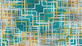 3d abstracte achtergrond render Royalty-vrije Stock Fotografie